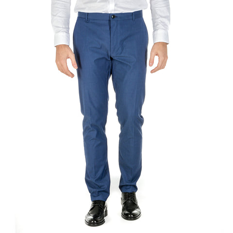Hugo Boss Mens Pants Blue HELDOR