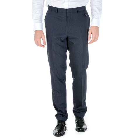 Hugo Boss Mens Pants Dark Blue HILION