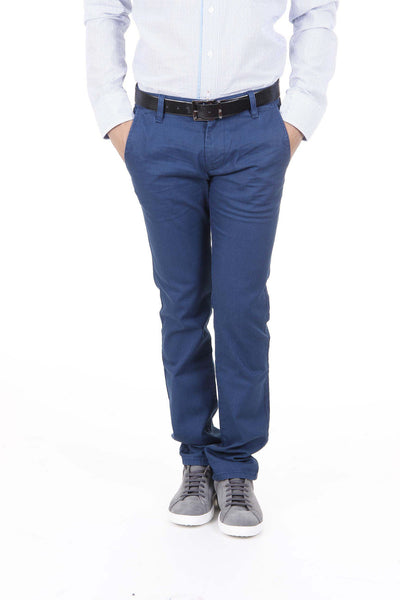 Hugo Boss Men Trousers Blue - LeCITY