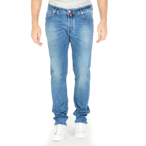 Jacob Cohen Mens Jeans J688 Light Blue