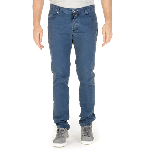 Jacob Cohen Mens Pants J688 Blue