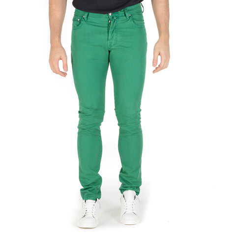 Jacob Cohen Mens Pants J688 Green