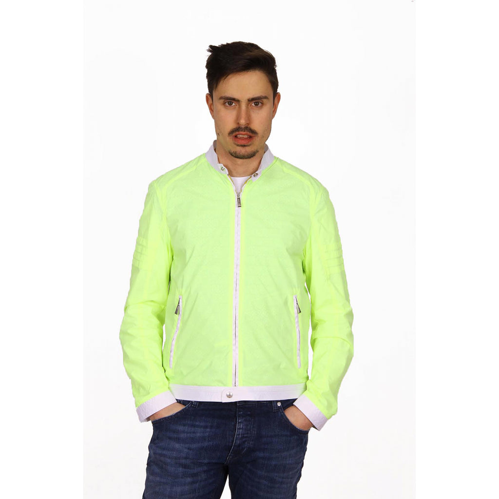 Just Cavalli Men Jackets Green - LeCITY