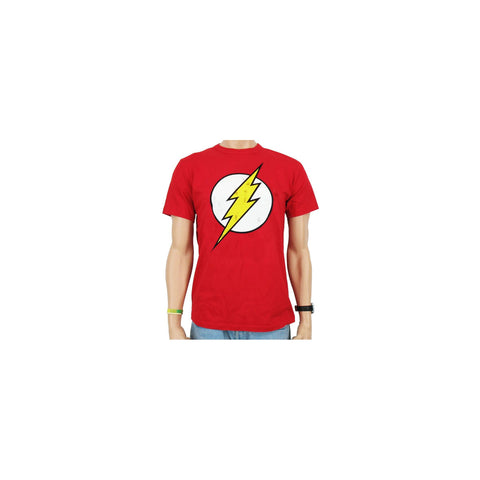 Marvel Comics mens T-shirt The Flash Logo