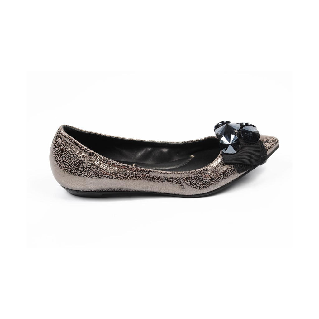 BCBG Max Azria Shoes Women Ballerinas Silver - LeCITY