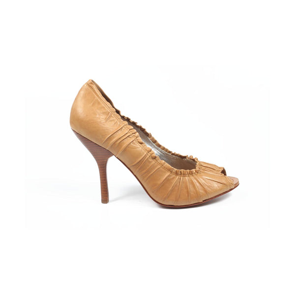 Max Azria ladies pump open toe MA-IDALINA RUST