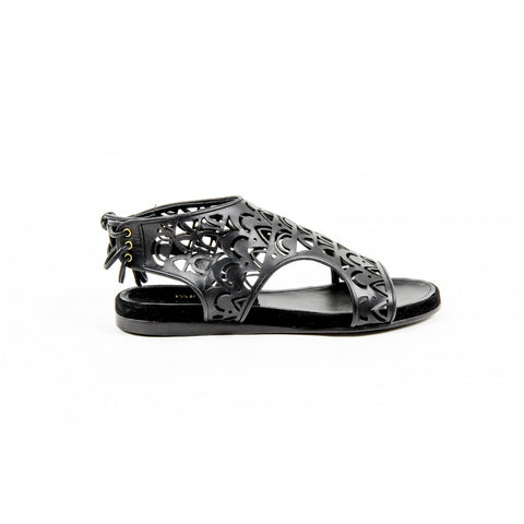 Parrice Womens Sandal PS15S1 BLACK