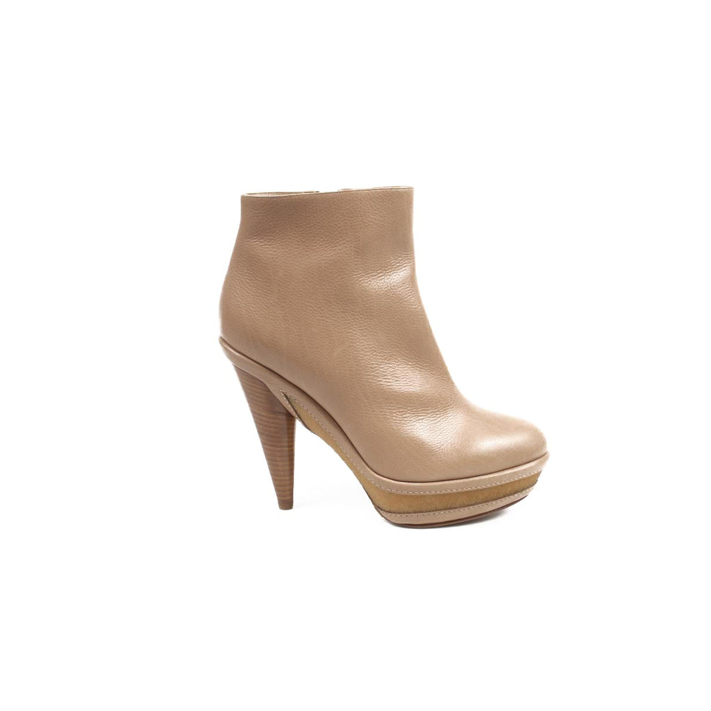 Rodo Shoes Women Ankle Boots Camel - LeCITY