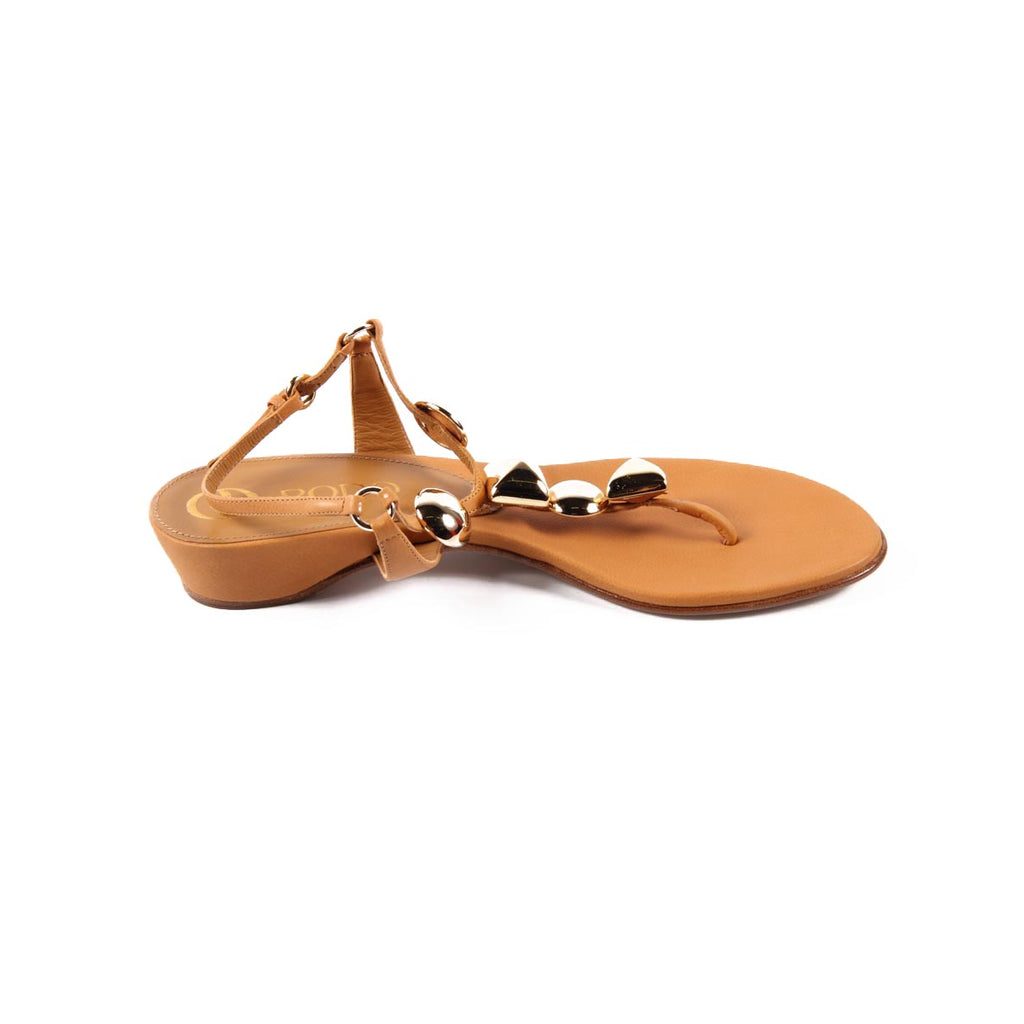 Rodo Shoes Women Sandals Brown - LeCITY