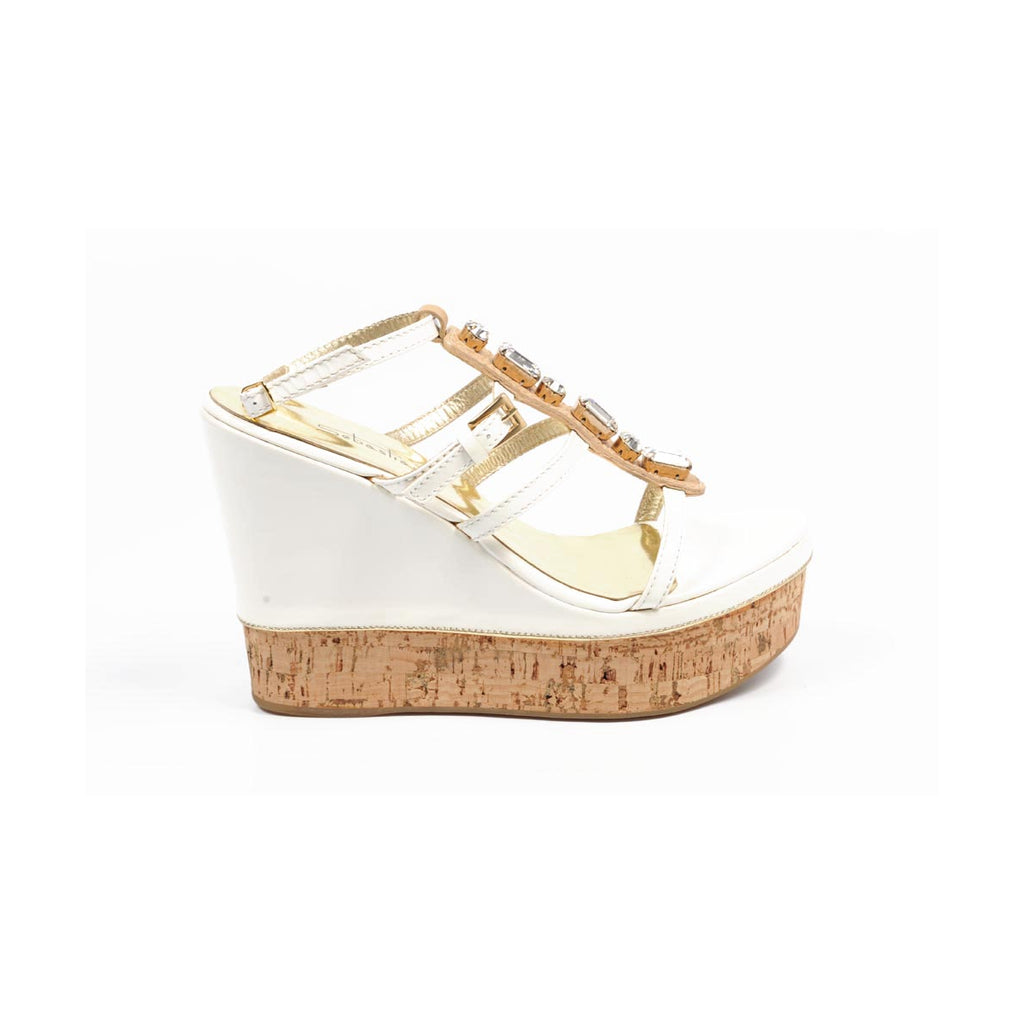 Sebastian Milano Shoes Women Sandals White