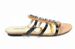 Sebastian Milano Shoes Women Sandals Black - LeCITY
