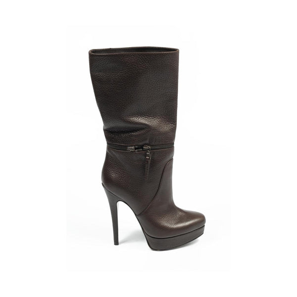 Sebastian Milano ladies short boot S4627 FOCUS CACAO