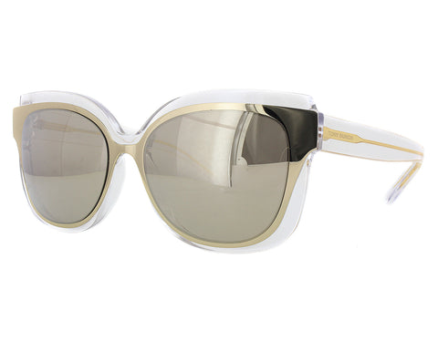 Sunglasses Tory Burch TY 9046 Clear/ Gold Mirror cat eye waver glasses