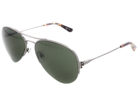 Tory Burch Sunglasses aviator TY6038 305671 Gunmetal Green/Grey Solid 55 16 135 3N
