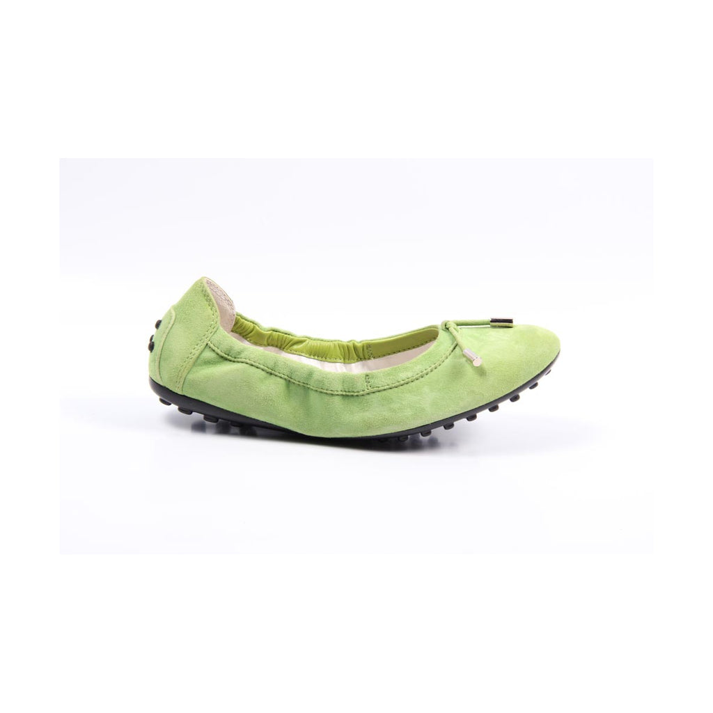 Tod's Kids Girls Ballerinas Green - LeCITY