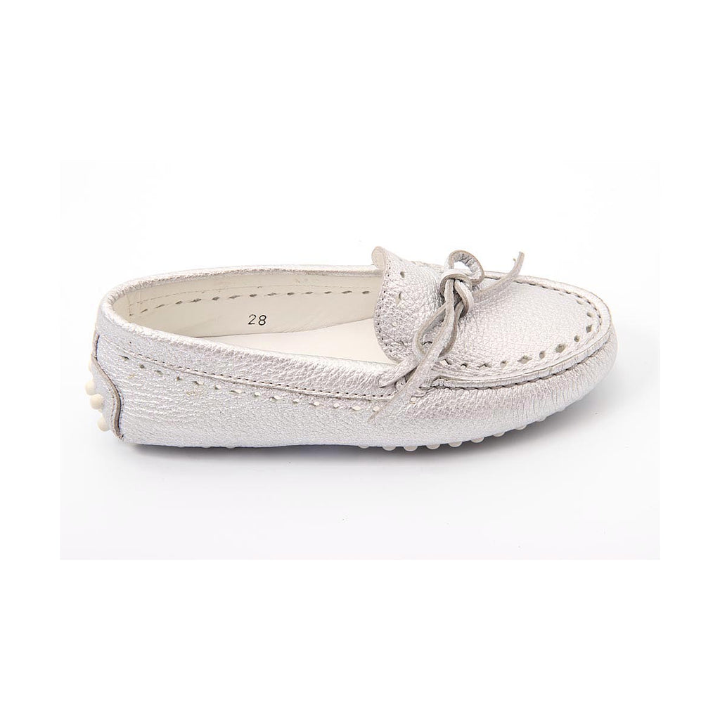 Tod's Kids Girls Loafers Silver