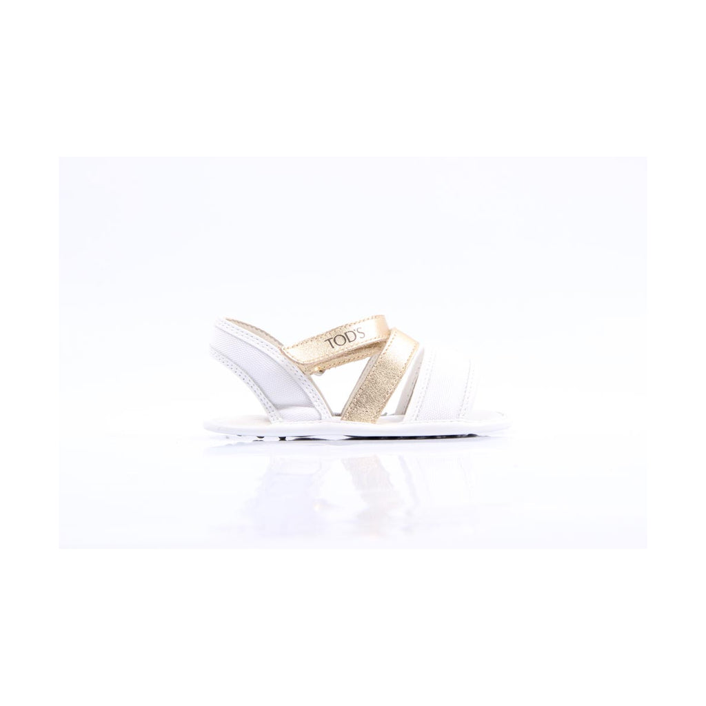 Tod's Kids Girls Sandals White - LeCITY