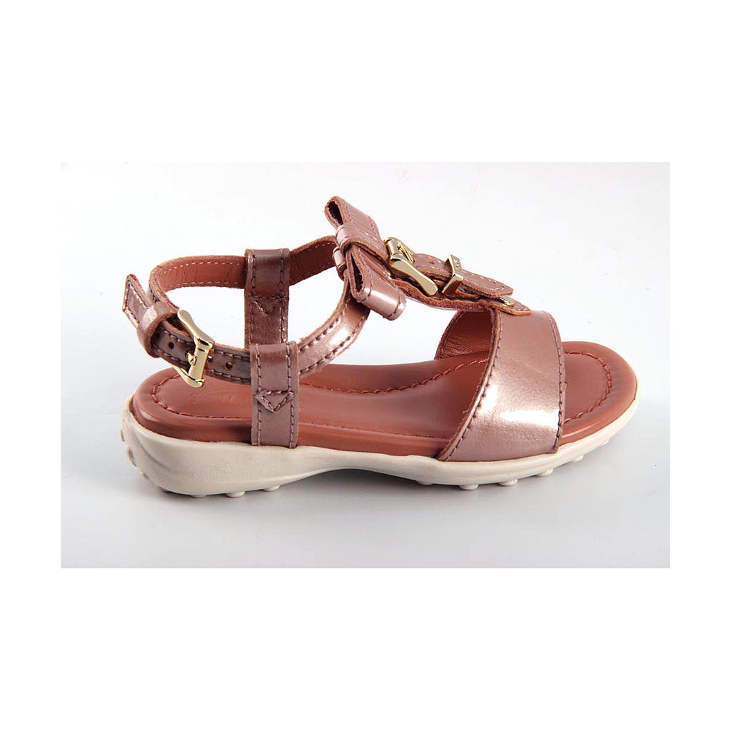 Tod's Kids Girls Sandals Brown - LeCITY