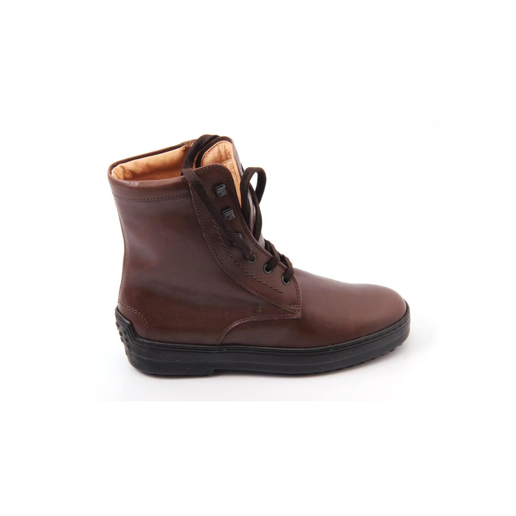 Tod's Kids Boys Ankle Boots Brown - LeCITY