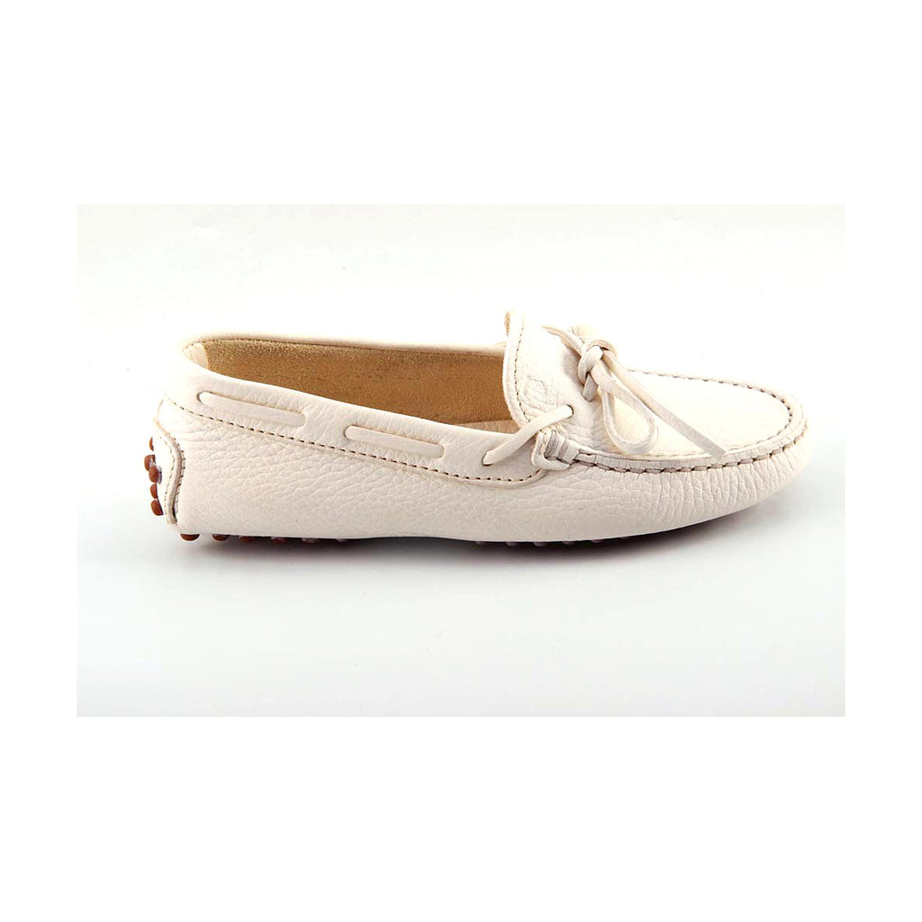 Tod's Kids Girls Loafers White - LeCITY