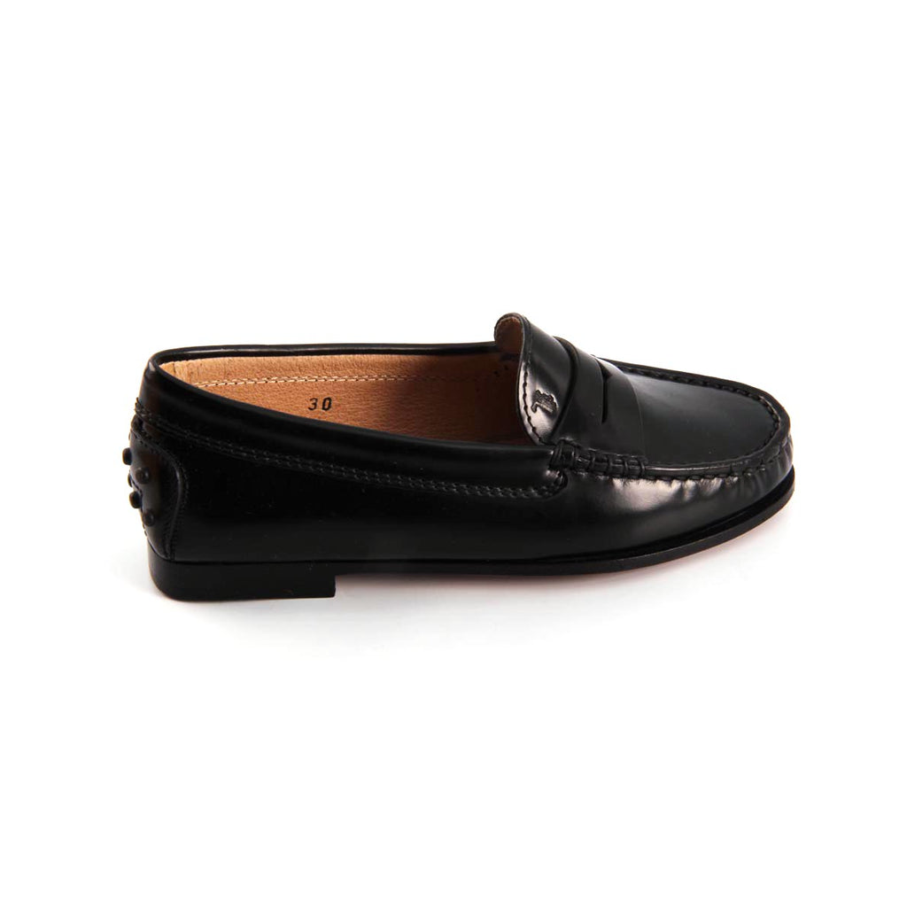 Tod's Kids Boys Loafers Black - LeCITY