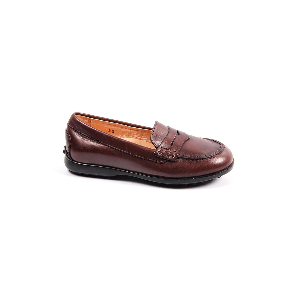 Tod's Kids Boys Loafers Brown