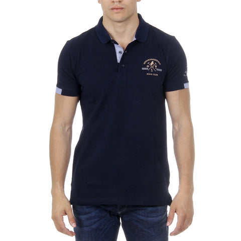 Ufford & Suffolk Polo Club Mens Polo Short Sleeves US025 NAVY BLUE