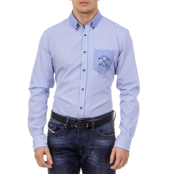 Ufford & Suffolk Polo Club Mens Shirt USC01 A1 BLUETTE