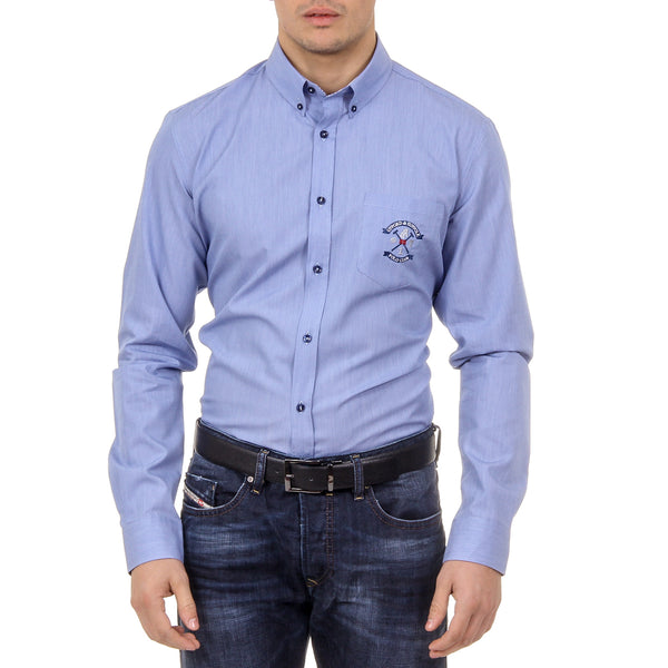Ufford & Suffolk Polo Club Mens Shirt USC02 B1 BLUETTE