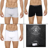 Ufford & Suffolk Polo Club Mens Three pack boxer trunk US300
