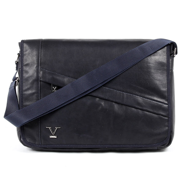 V 1969 Italia Mens Bag Blue MOSCA