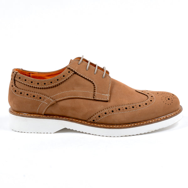 V 1969 Italia Mens Brogue Oxford Shoe Brown PEDRO