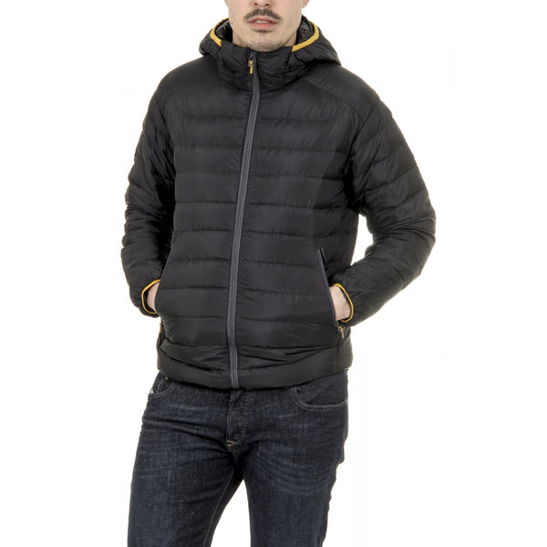 V 1969 Italia Mens Down Jacket ARTICO BLACK