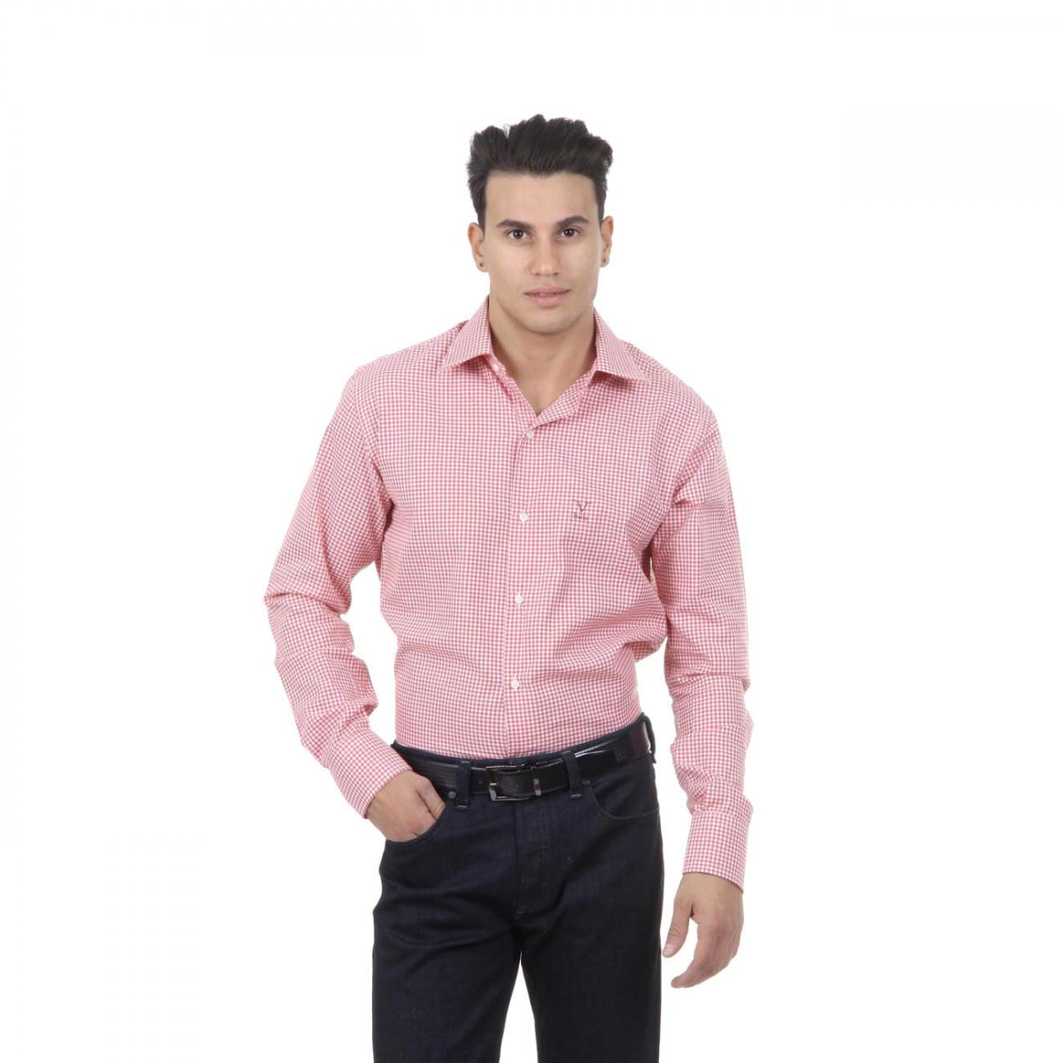 V 1969 Italia Mens Fit Modern Classic Shirt 377 ART. 023