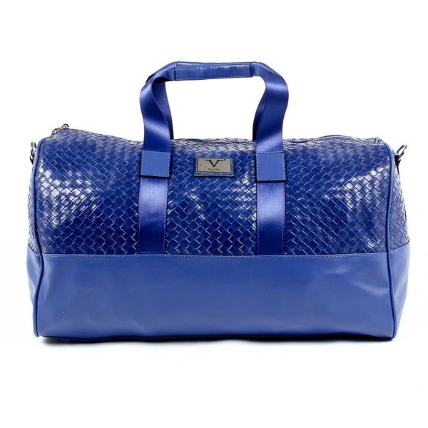 V 1969 Italia Mens Handbag Blue JEFF