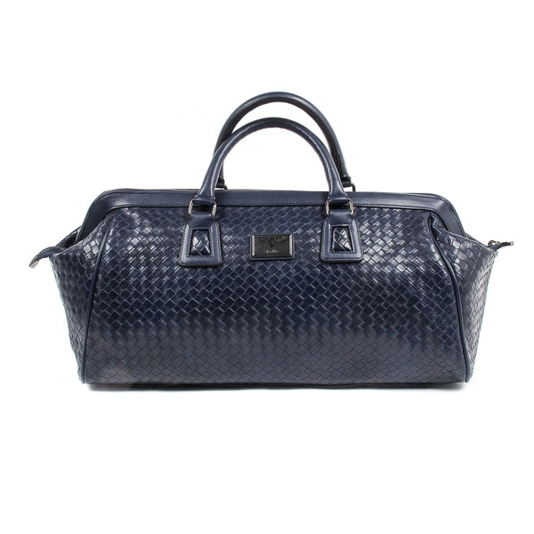 V 1969 Italia Mens Handbag Blue WILLY