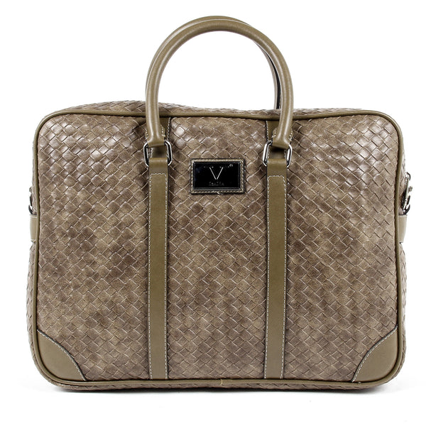 V 1969 Italia Mens Handbag Brown EVAN