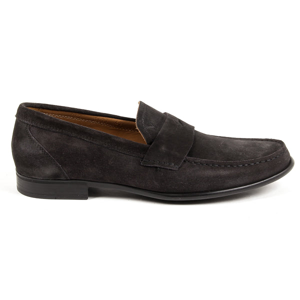 V 1969 Italia Mens Loafer Dark Grey LEONARDO