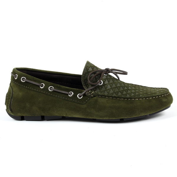 V 1969 Italia Mens Loafer Green KARL