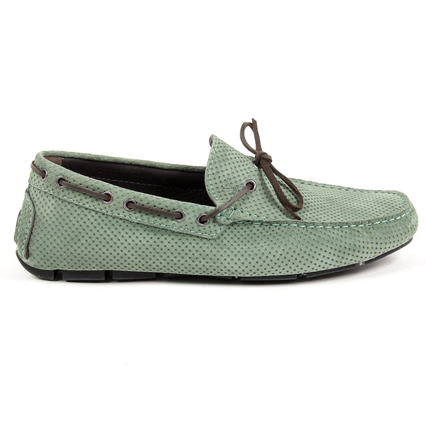 V 1969 Italia Mens Loafer Green SIMON