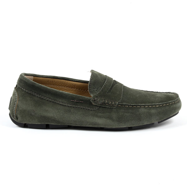V 1969 Italia Mens Loafer Green STEWART