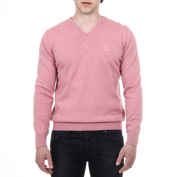 V 1969 Italia Mens Sweater Long Sleeves V-Neck