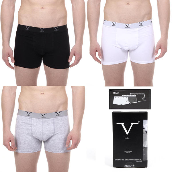 V 1969 Italia Mens Three pack boxer trunk