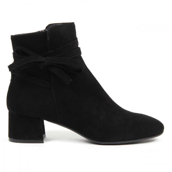V 1969 Italia Womens Ankle Boot 3141 CAMOSCIO NERO