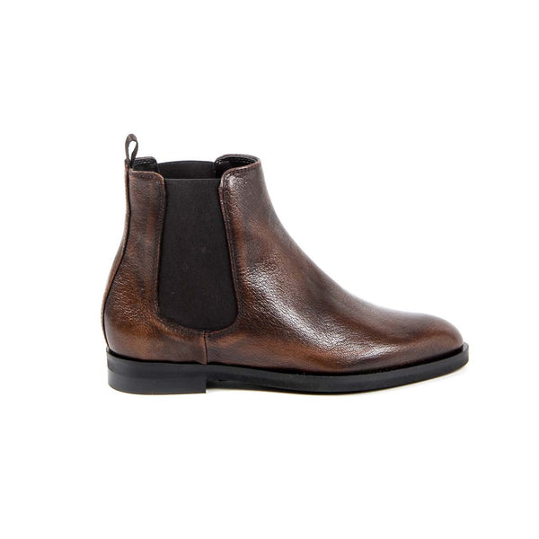 V 1969 Italia Womens Ankle Boot B1578 VITELLO RUST
