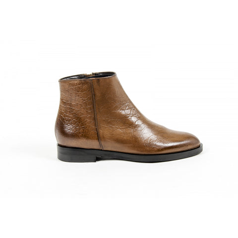 V 1969 Italia Womens Ankle Boot Brown CAMILLA