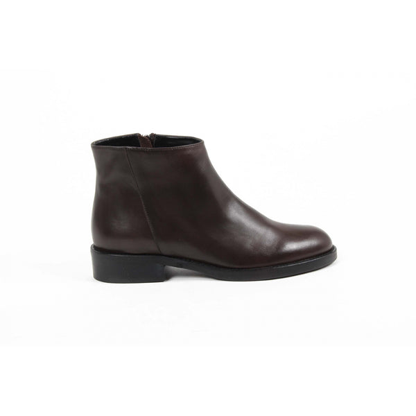 V 1969 Italia Womens Ankle Boot C13 VITELLO MARRONE