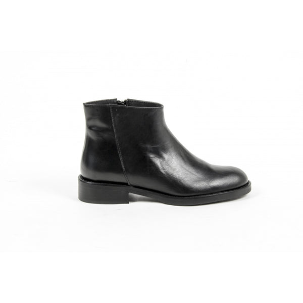 V 1969 Italia Womens Ankle Boot C13 VITELLO NERO