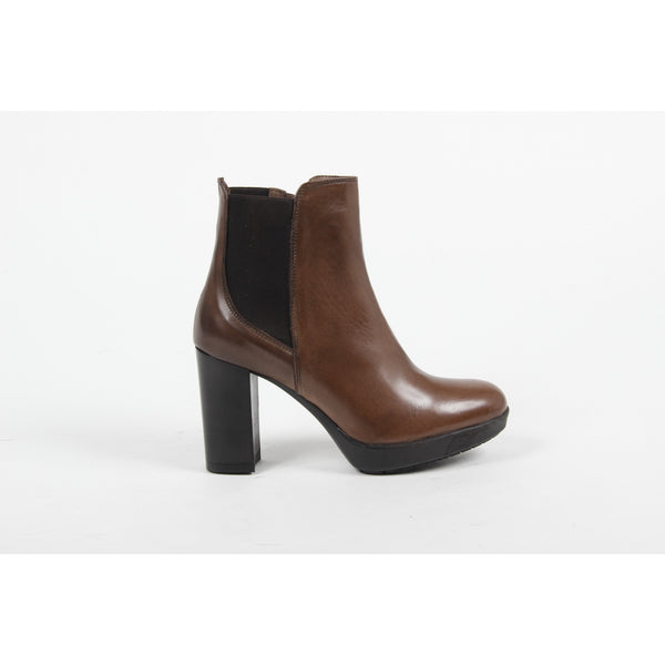 V 1969 Italia Womens Ankle Boot C22 VITELLO MORO