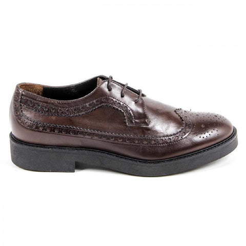 V 1969 Italia Womens Brogue Shoe B1670 VITELLO T. MORO